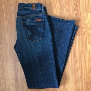 7 for All Mankind Flynt Bootcut Jeans - Size 26